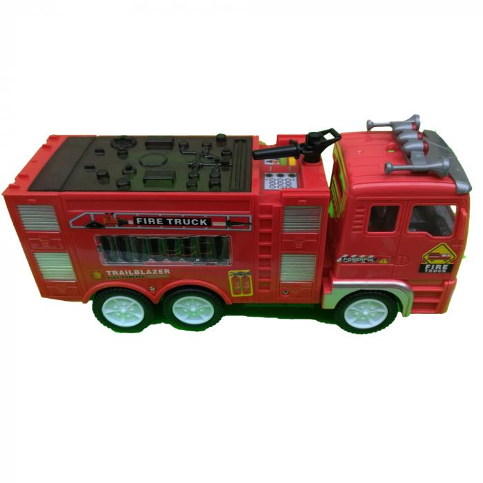 Masina de pompieri, Vision, cu efecte sonore si lumini [0]