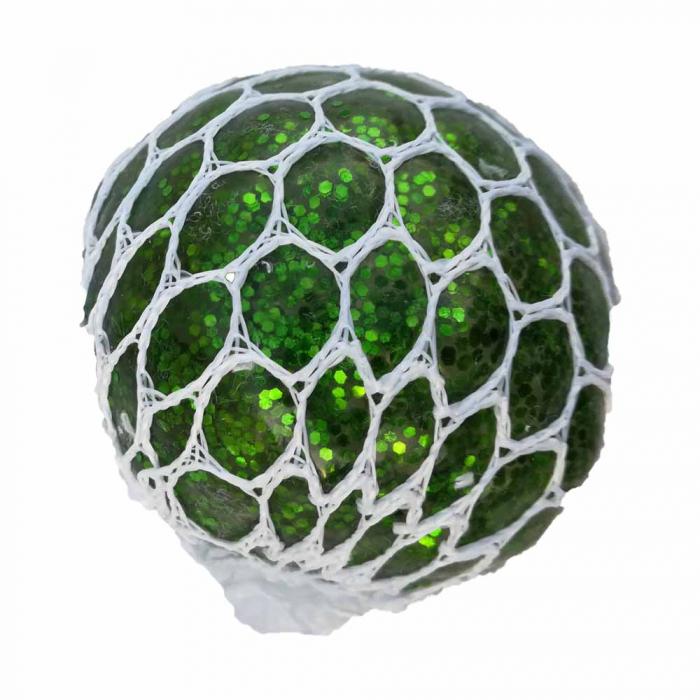 Minge antistres Vision cu Slime 5 cm - verde sidefat [0]