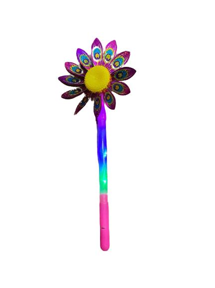 Morisca de vant cu led Vision, floare 36 de cm [0]