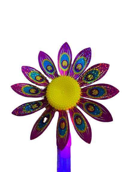 Morisca de vant cu led Vision, floare 36 de cm [3]