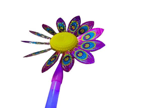 Morisca de vant cu led Vision, floare 36 de cm [1]
