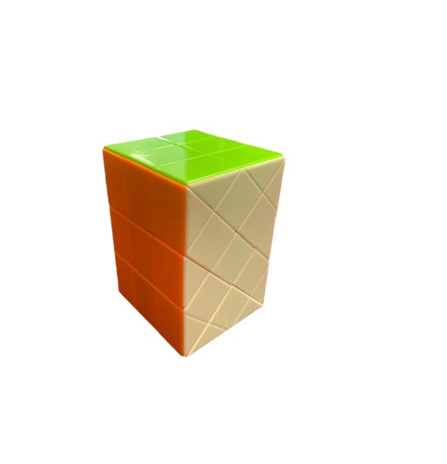 Paralelipiped Rubik din plastic, multicolor Vision [0]