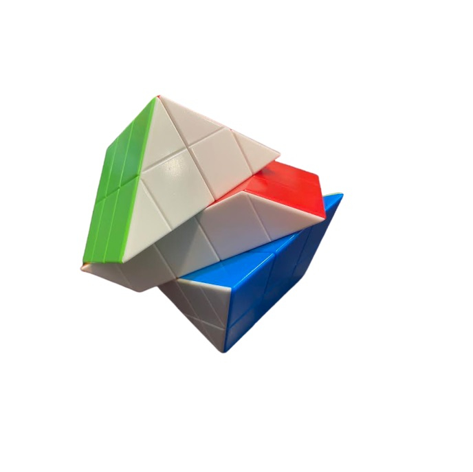 Paralelipiped Rubik din plastic, multicolor Vision [2]