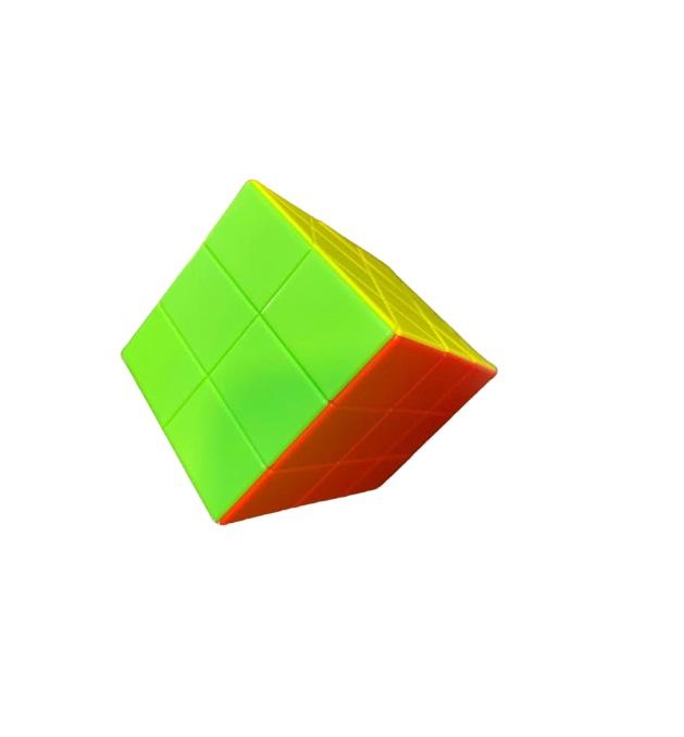 Paralelipiped Rubik din plastic, multicolor Vision [3]