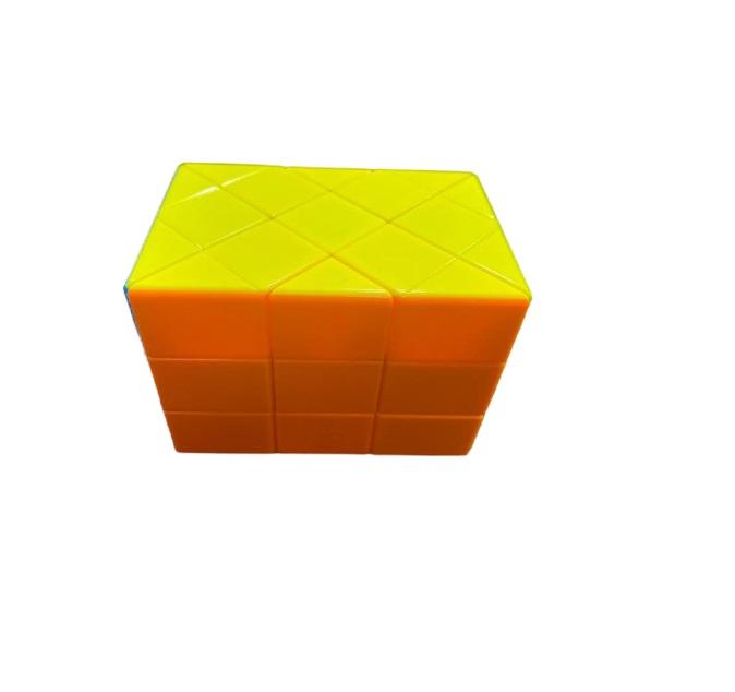 Paralelipiped Rubik din plastic, multicolor Vision [1]