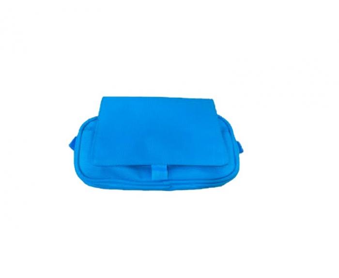 Penar Vision, tip borseta, cu  trei compartimente, albastru [0]
