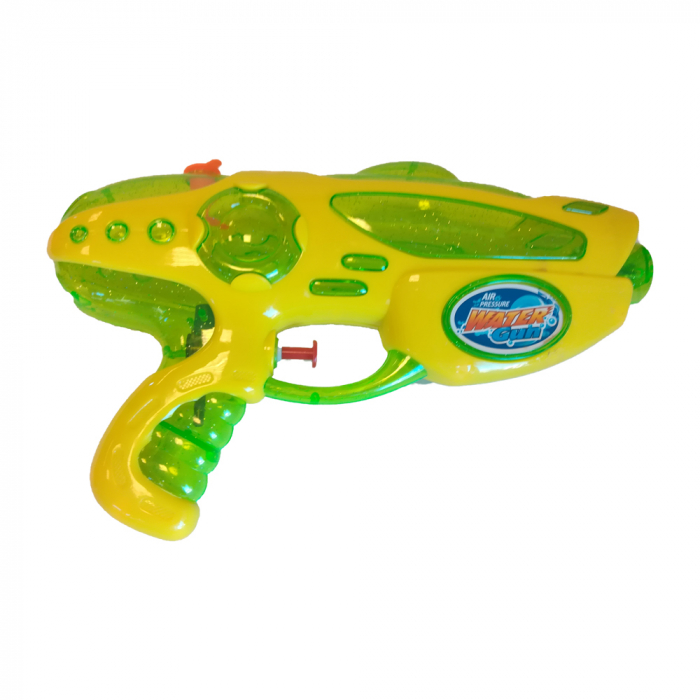 Pistol cu apa de jucarie Vision 25 cm, verde cu galben [0]