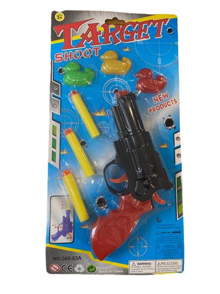 Pistol Vision cu ventuze si trei ratuste [0]