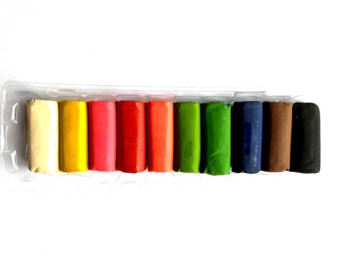 Plastilina 10 culori 200g Friday, Vision [0]