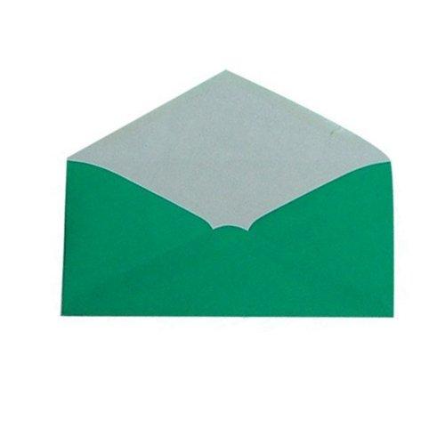 Plic DL verde, Vision cu clapeta in V [0]