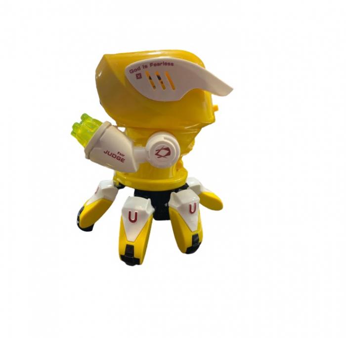 Robot Octopus Rockman danzeaza, lumineaza si canta Vision [3]