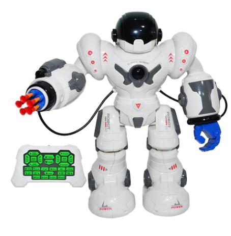 Robot politist Vision, MJ, 14 ani +, Alb / Albastru [0]