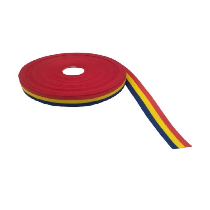 Rola de panglica tricolora latime 25 mm, lungime 50 m Vision [0]