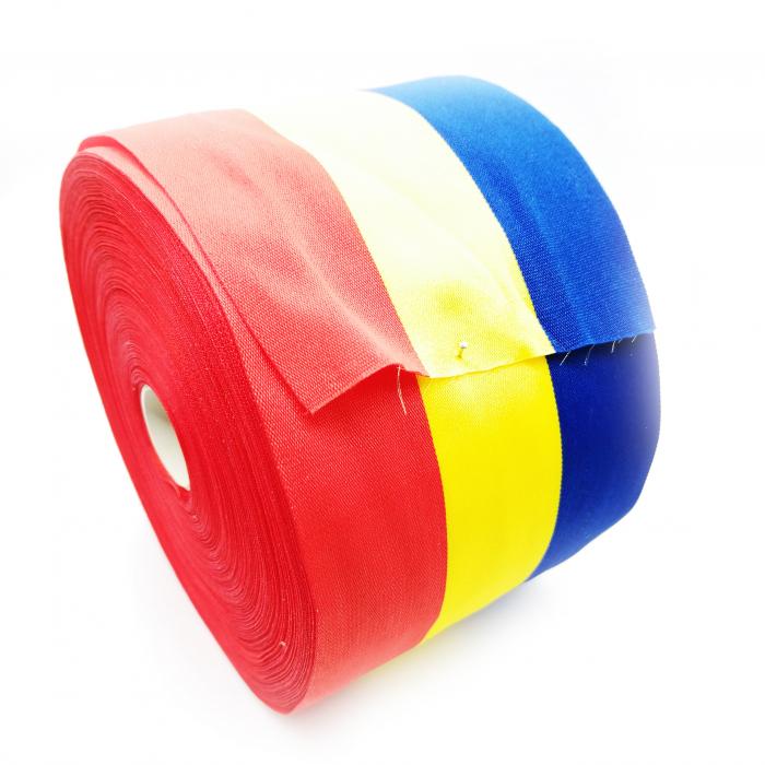 Rola de panglica tricolora latime 50 mm, lungime 50 m Vision [0]