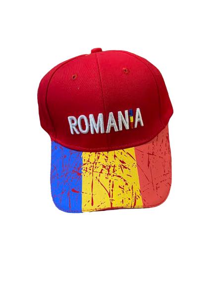 Sapca Vision, model cu  Romania, multicolor [0]