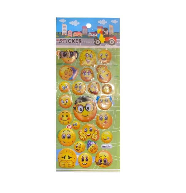 Set 24  abtibilduri emoji- Vision [0]