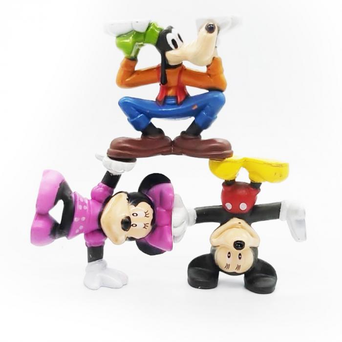 Set 3 figurine Prietenii lui Mickey Mouse, 7 cm- Vision [4]