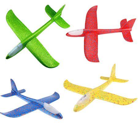 Set 4 avioane, din polistiren, 47 cm, cu led Vision [0]