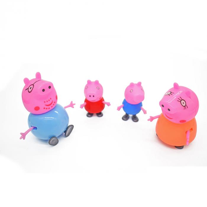 Set 4 figurine Peppa Pig-Vision [0]