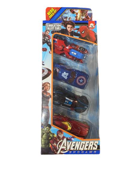 Set 4 machete de metal Vision, 8 cm, Avengers [1]