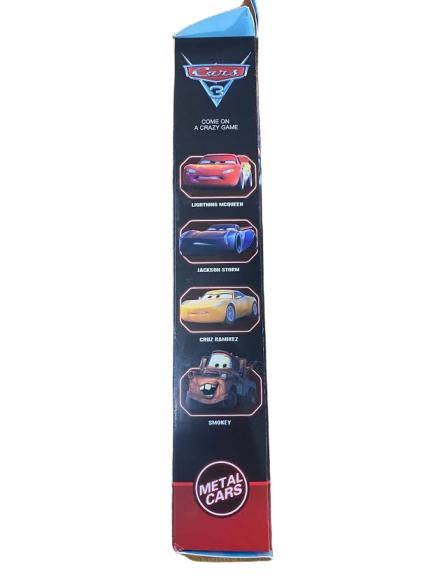 Set 4 machete de metal Vision, 9 cm, Cars 3 [2]