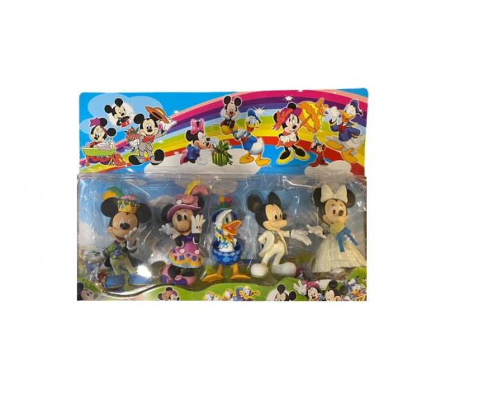 Set 5 figurine cu  prietenii lui Mickey Mouse- Vision, format mare, 14 cm [0]