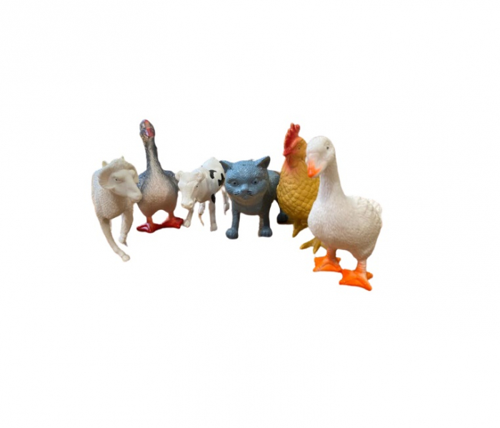 Set 6 animale domestice, 12 cm Vision [0]