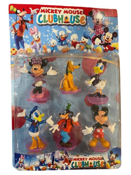 Set 6 figurine cu  Prietenii lui Mickey Mouse- Vision [0]