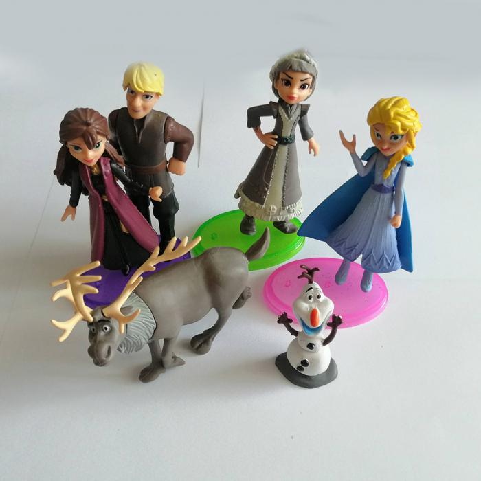 Set 6 figurine, Frozen II, 10 cm, Vision [4]