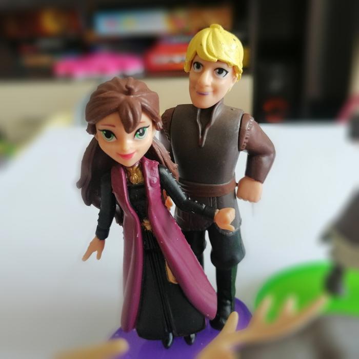 Set 6 figurine, Frozen II, 10 cm, Vision [2]