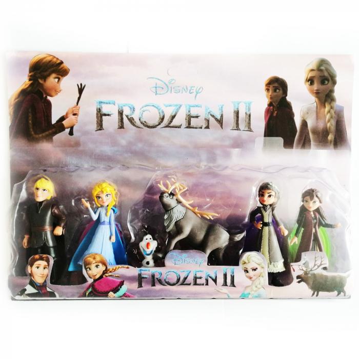 Set 6 figurine, Frozen II, 10 cm, Vision [0]
