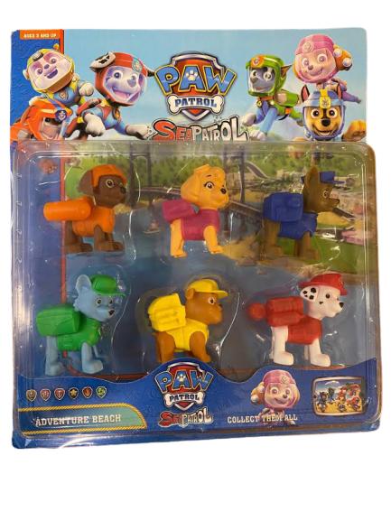 Set 6 figurine Patrula catelusilor, PAW Patrol- Vision [0]
