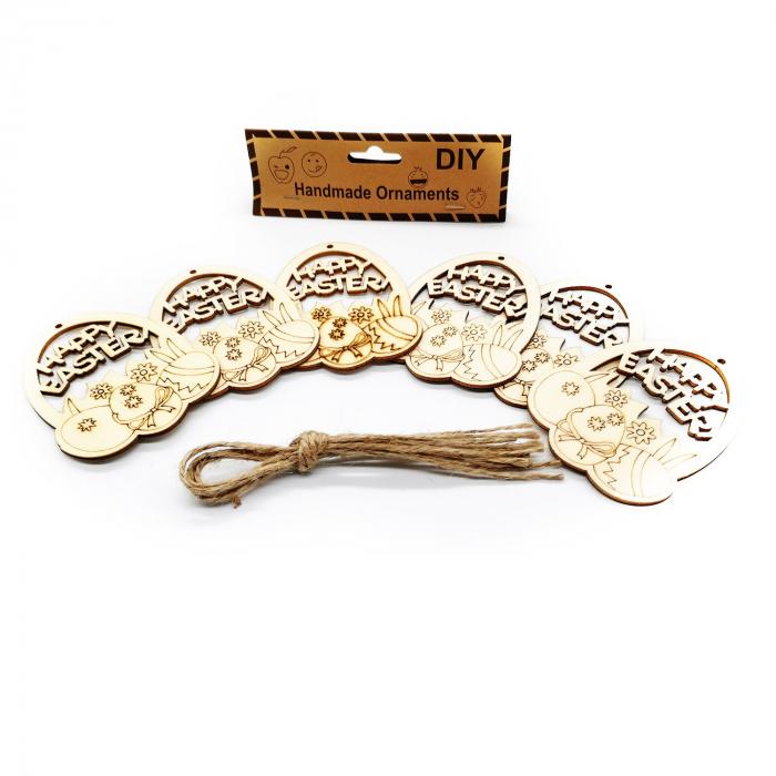 Set 6 ornamente handmade, Vision, oua de Paste [1]