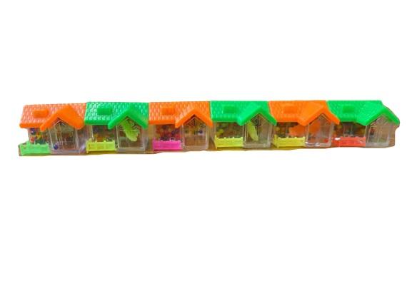 Set de 6 casute cu bilute care cresc Vision, multicolor [0]