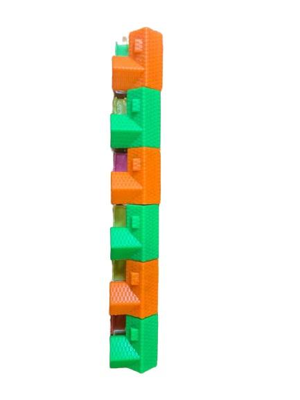 Set de 6 casute cu bilute care cresc Vision, multicolor [1]