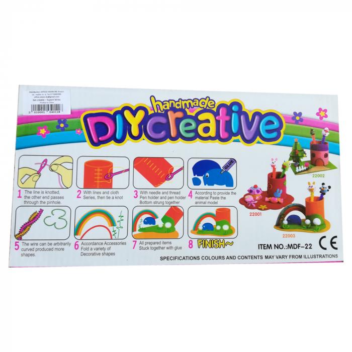 Set de creatie pentru copii Vision - Suport instrumente de scris [2]