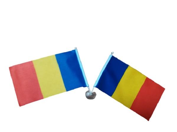 Set doua stegulete Romania, cu ventuza Vision [0]