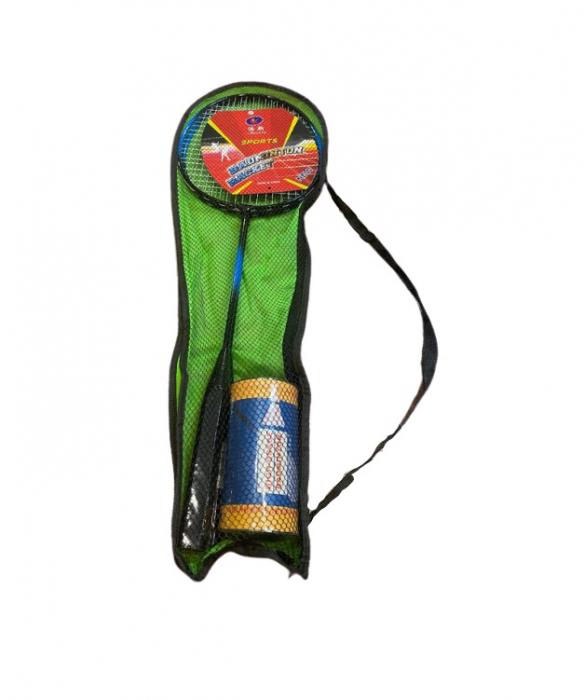 Set palete Badminton + 2 fluturasi Vision, in husa verde [3]