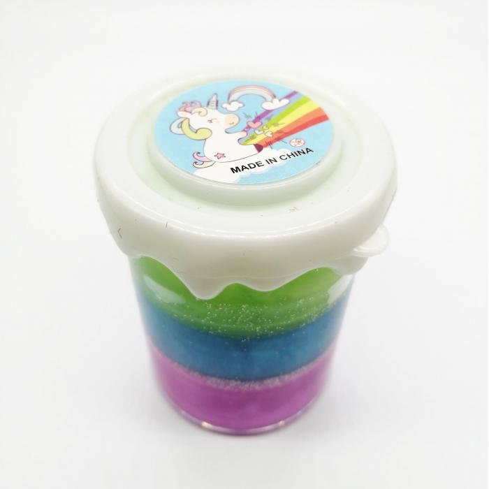 Slime gelatina Unicorn Three Colors, 50g -Vision [1]