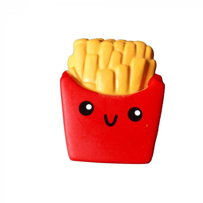 Squishy jucarie antistres Vision, pentru copii peste 8 ani - model punga de cartofi prajiti [0]