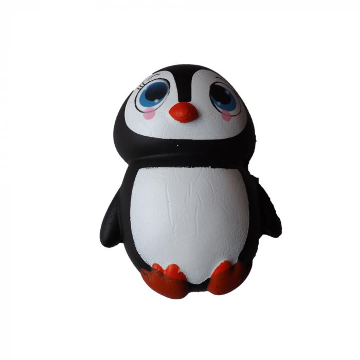 Squishy jucarie antistres Vision, pentru copii peste 8 ani - pinguin [0]