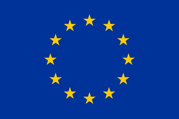 Steag Uniunea Europeana Vision, panza poliester, dimensiune 150x90cm [0]