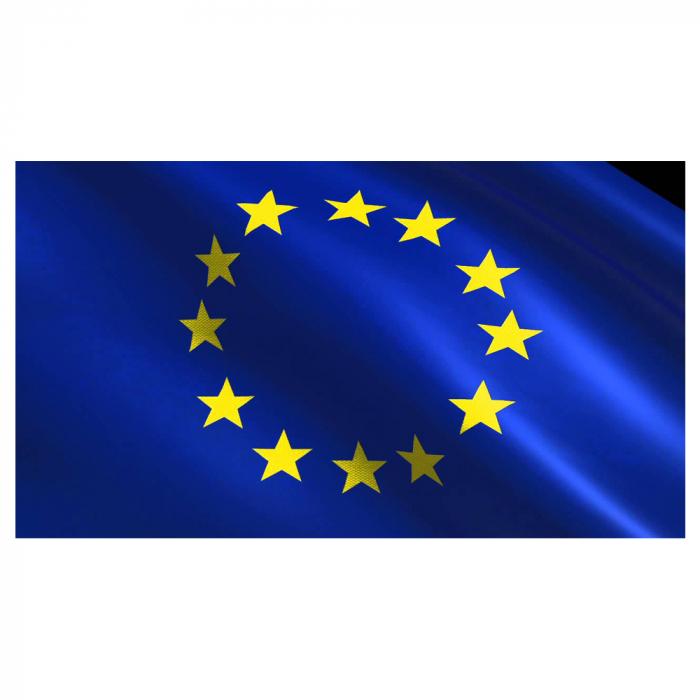 Steag Uniunea Europeana Vision, poliester, format 90x150cm, pentru catarg [0]