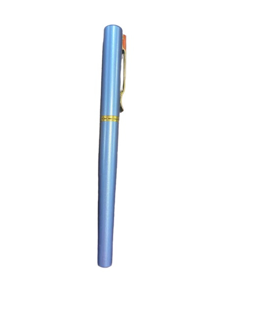 Stilou albastru Vision 2841, penita ascunsa, dual, rezervor si patron [0]