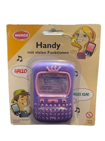 Telefon de jucarie pentru fetite Vision, mov [0]