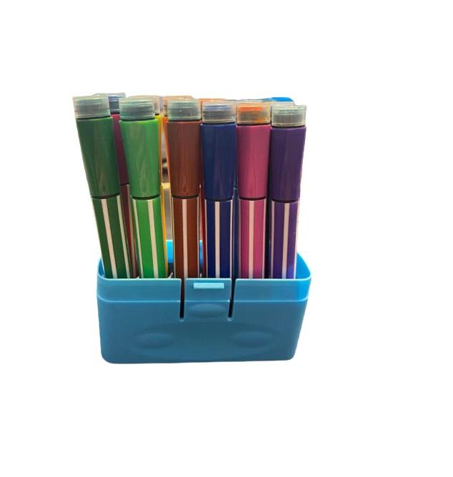 Trusa de carioci cu stampila Vision, 12 culori [0]