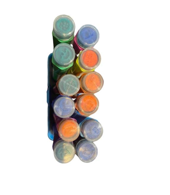 Trusa de carioci cu stampila Vision, 12 culori [1]
