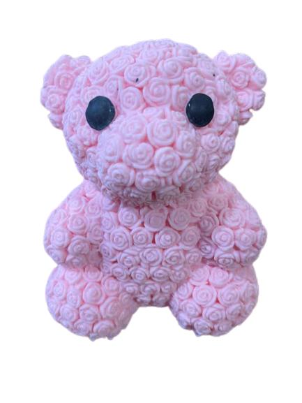 Ursulet de jucarie Vision, cu  led roz [0]