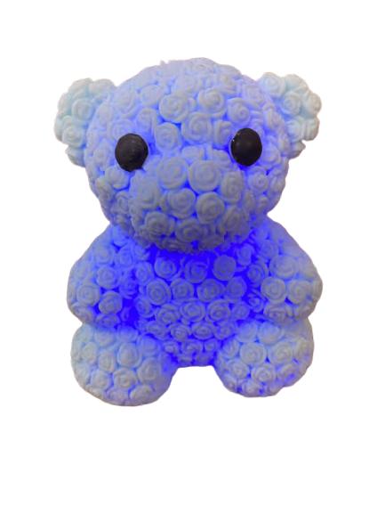 Ursulet Vision, din cauciuc, cu led albastru [0]