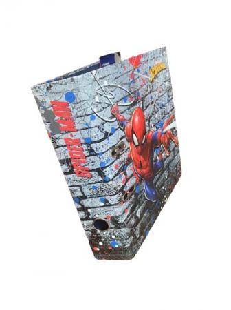 Biblioraft A4 Vision, 8cm, cu Spider-man, albastru [3]